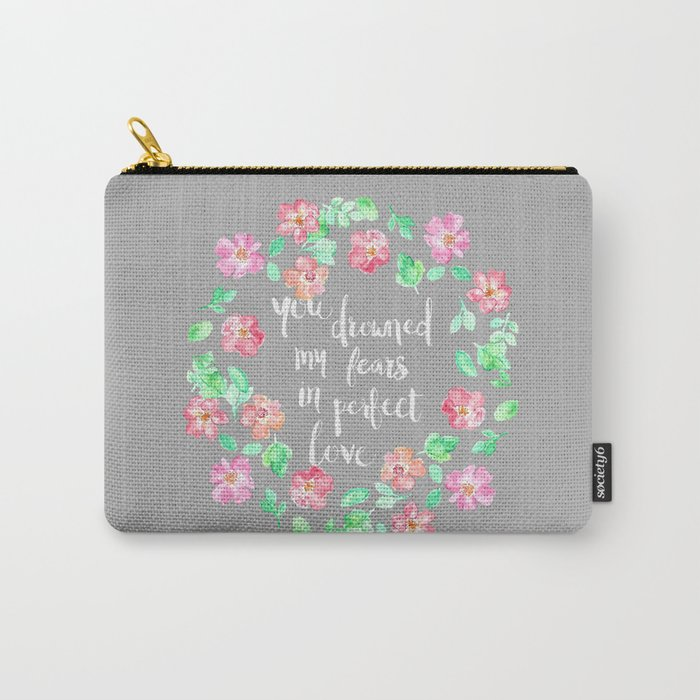 Perfect Love Carry-All Pouch