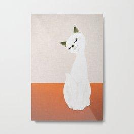 cat doll Metal Print