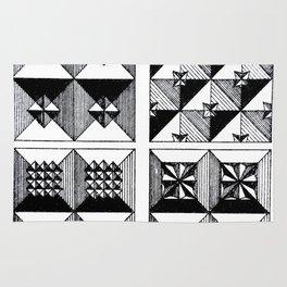 Engraved Patterns Rug