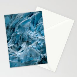 Blue Ice Glacier in Norway - Landscape Photography Stationery Cards