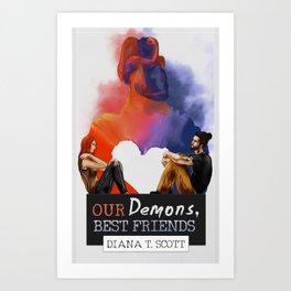 Our demons, best friends III Art Print