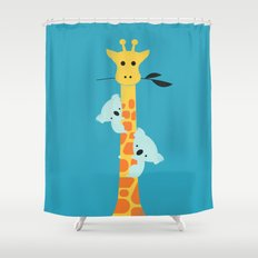 I'll be your tree Shower Curtain
