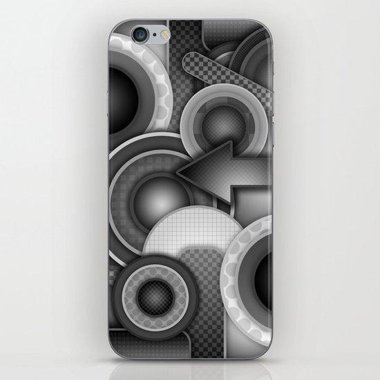 Monochrome Mayhem  iPhone & iPod Skin
