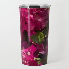 Red bougainvillea Travel Mug