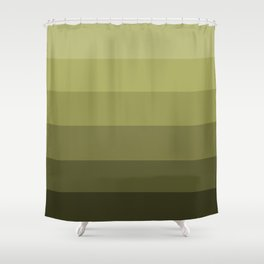 Jade Olive Green - Color Therapy Shower Curtain