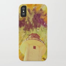 optic lines iPhone Case