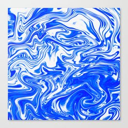 Marbled XX Canvas Print