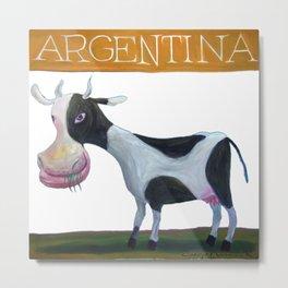Vaca argentina Metal Print
