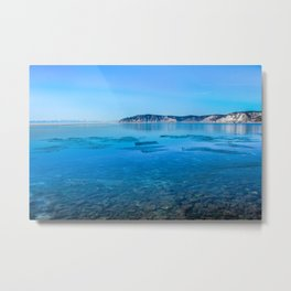 The Angara river Metal Print