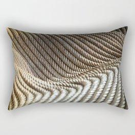Coiled Lines Rectangular Pillow