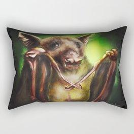 Baby Birthday Bat Rectangular Pillow