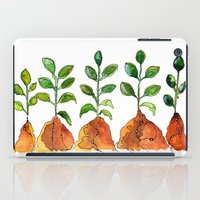 succulents iPad Cases featuring Succulents by Gosia&Helena