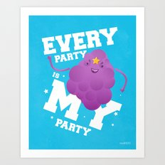 Every Party Is A LSP Party Art Print