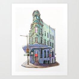 Sydney classic #1: Newtown Art Print