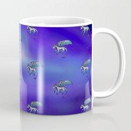 Little Blue Dragon Coffee Mug