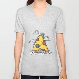 Pizza House Unisex V-Neck