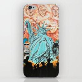 Welcome to America iPhone Skin