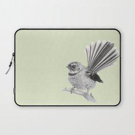 Piwakawaka   NZ Fantail Laptop Sleeve