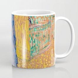 Henri de Toulouse-Lautrec - Jane Avril Leaving the Moulin Ruge - Digital Remastered Edition Coffee Mug
