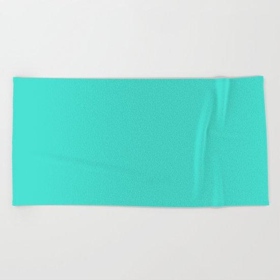 (Turquoise) Beach Towel