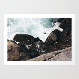 The Ocean Calls (Spring) Art Print