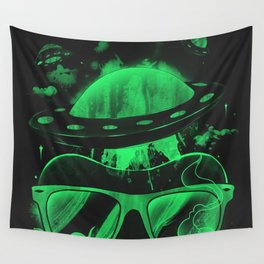 Hipster Invasion Wall Tapestry