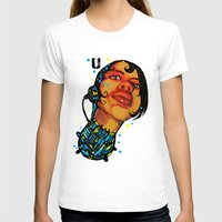 sci fi T-shirts featuring BLK SCI-FI 5 by BlackKirby1
