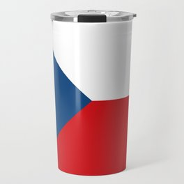 Flag of Czech Republic Travel Mug