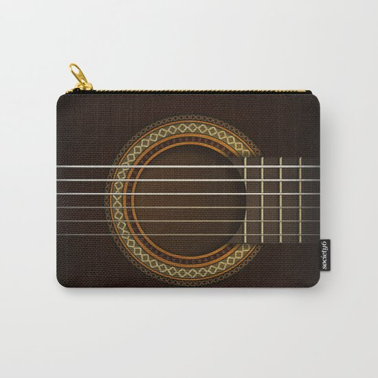 Full Guitar Black Carry-All Pouch