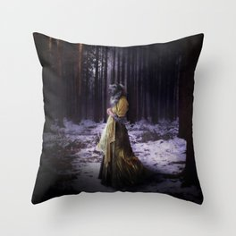 Ailuranthrop Throw Pillow