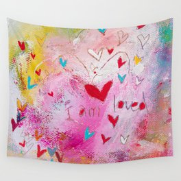 I am Loved Wall Tapestry