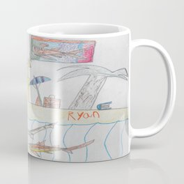 Sandcastle Island Coffee Mug