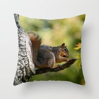 zen Throw Pillows featuring Zen by IowaShots