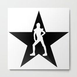 Ziggy Star Metal Print