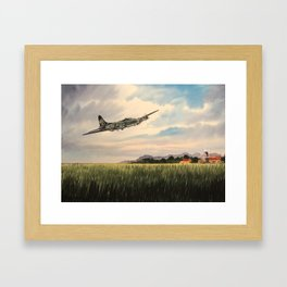 B-17 Flying Fortress Aircraft Framed Art Print