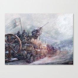 Mobile Inquisition Canvas Print
