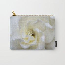 White Gardenia Carry-All Pouch