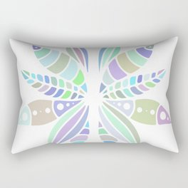 pastel mandala Rectangular Pillow
