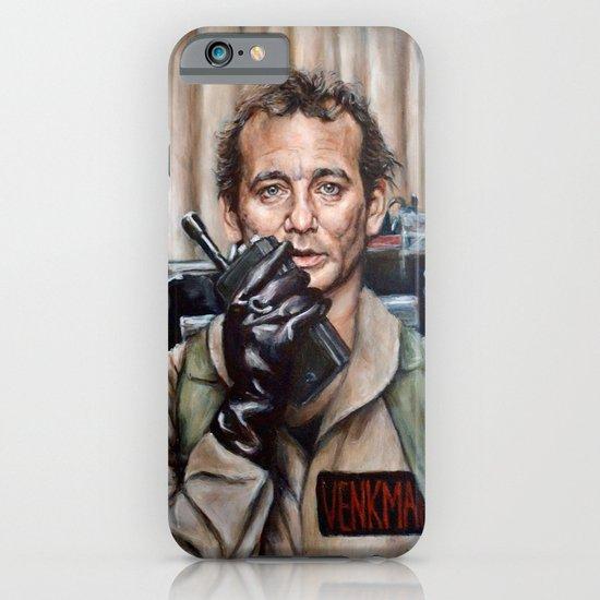 Bill Murray / Ghostbusters / Peter Venkman iPhone & iPod Case