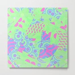 Lime Sorbet Metal Print