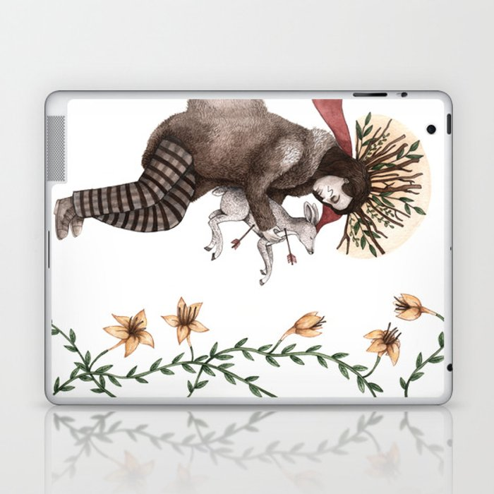 Dead Man Laptop & iPad Skin