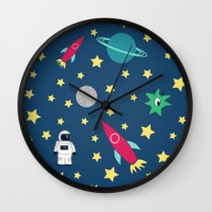Space Objective Wall Clock