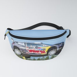 Jumping rally car Fanny Pack