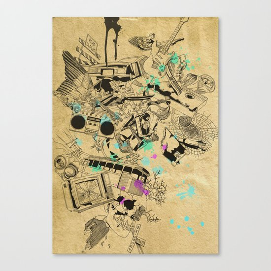 My Broken Dreams Canvas Print