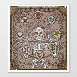 Mental Medicine in the Balance Canvas Print