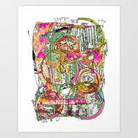artsy Art Prints featuring Artsy Lines by Ingrid Padilla