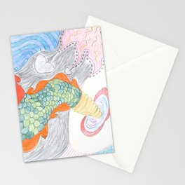 In memory of a lost creature Stationery Cards