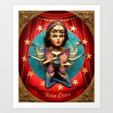 Madam Octavia  Art Print