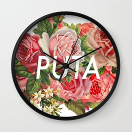 PUTA Wall Clock