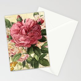Vintage flowers #28 Stationery Cards